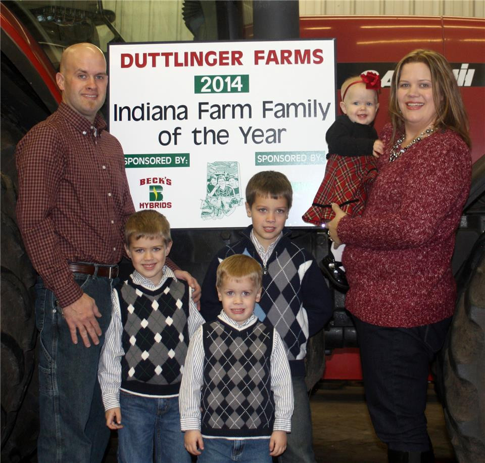 Beck's and Indiana AgriNews Start Search for 2015 Indiana Farm Family of the Year