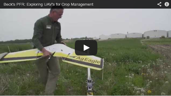 Beck's PFR: Exploring UAV's for Crop Management