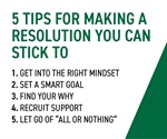 We Are Becks: Five Tips For Making A Resolution You Can Stick To