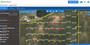CropTalk: Population Estimations Made Easy With Drones