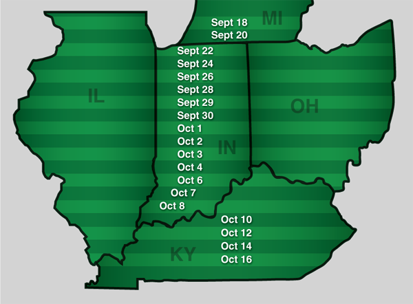 fly free date ohio