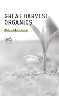 2020-2021 Great Harvest Organics Product Guide